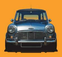 Austin Mini Cooper (Colour) by Sharknose