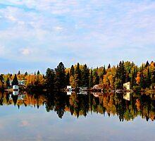 Brereton Lake Reflections by Larry Trupp