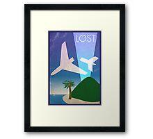 Lost Island Framed Print