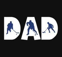 "Dad Father's Day ""Hockey Dad"" by FamilyT-Shirts"