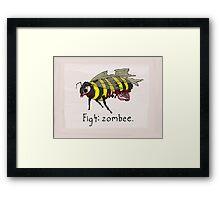 Zombee Framed Print