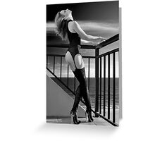 Passion at Sunset Greeting Card