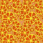 Orange Slices Pattern by SaradaBoru