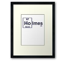 For the Holmeses... Framed Print