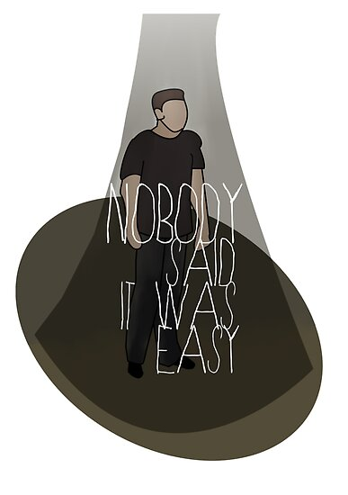 Glee I Nobody Said It Was Easy by Jessica Slater