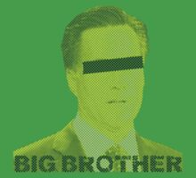 Mitt Romney big brother 2012 vintage by Tia Knight