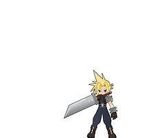 Cloud Strife by spyderjava