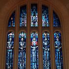 Australian War Memorial Canberra - leadlight Window by Bev Pascoe