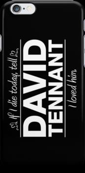 "David Tennant - ""If I Die"" Series (White) by huckblade"