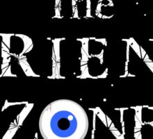 The Friend Zone Sticker