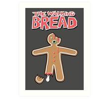 The Walking Dead GingerBread Man Zombies  Art Print