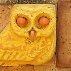 Yellow Owl by Karen Jayne Yousse