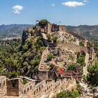 Postcard from Xativa Castle by Paul Weston
