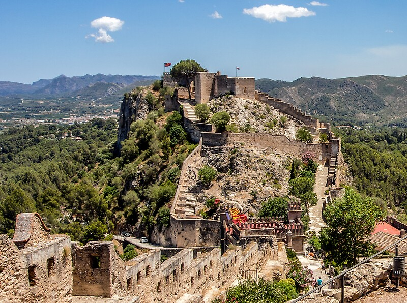Xativa Spain  city pictures gallery : Postcard from Xativa Castle