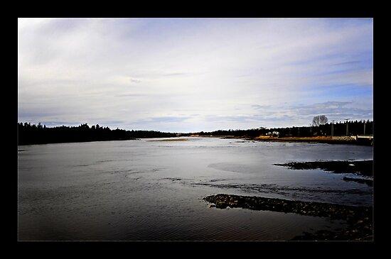 Narraguagus River by lumiwa