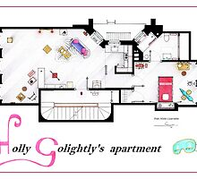Breakfast at Tiffany's Apartment Floorplan v2 by Iñaki Aliste Lizarralde