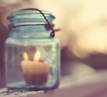 Candle of hope by Michele Jensen