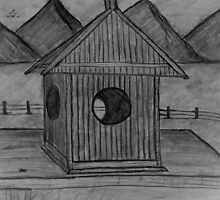 """Country Birdhouse""  by Carter L. Shepard by echoesofheaven"
