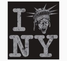 Angels love NY - Sticker by TrulyEpic