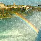 Rainbow Bridge 2, Niagara Falls, New York by Expressions &  Reflections