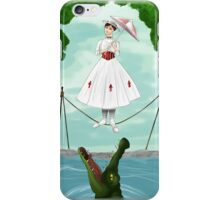 Haunted Mansion- Mary Poppins  iPhone Case/Skin