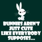Bunnies aren't just cute as everybody supposes by dalekgirl
