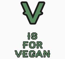 V is For Vegan by Jonathan Hughes