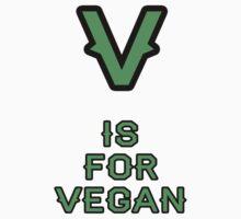 V is For Vegan by Jonathan Hughes