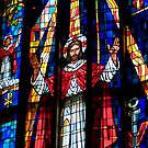 Stained Glass - Saint Andrew's Cathedral   by ZWC Photography