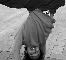Posing Breakdancer by Andrew  Makowiecki