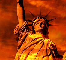 Lady Liberty by Thomas Stroehle