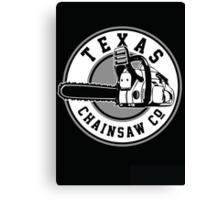 Texas Chain saw Massacre 'Texas Chain saw Company logo'  Canvas Print