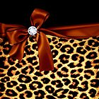 Elegant Animal Print Faux Diamond by GirlyGirl
