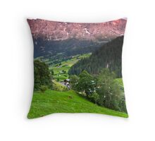 Switzerland Throw Pillow