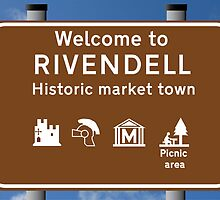 Welcome to Rivendell by Vince Fitter