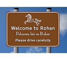 Welcome to Rohan Photographic Print