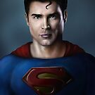 Tom Welling Superman by jaketheviking0