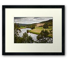 Chatsworth House Framed Print