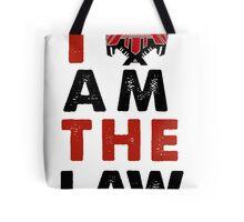 I am the law [colour] Tote Bag