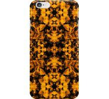 Fire Leaf Texture iPhone Case/Skin