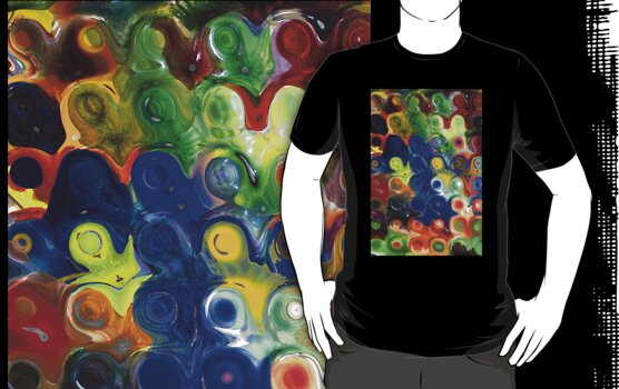 Transparent Glass Block T-Shirt by DARRIN ALDRIDGE