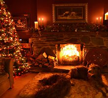 christmas in ma wee room by joak