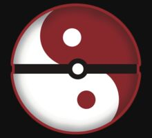 Pokeball + Ying & Yang by NERDcustard