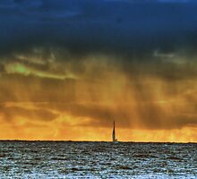 Sailing in the Rain by BarbL