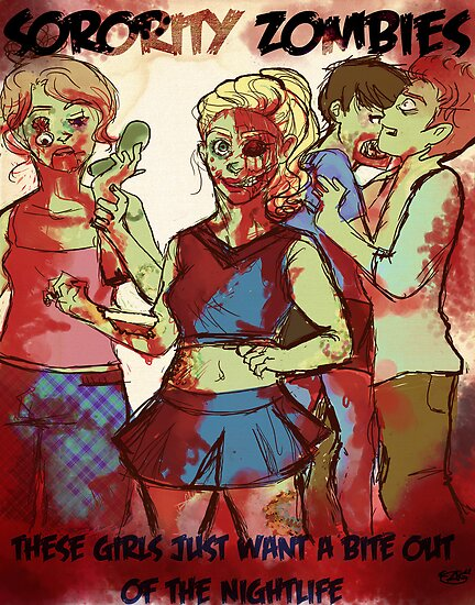 Sorority Zombies by AutumnGrace