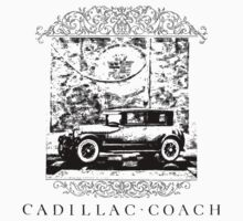 1925 Cadillac Coach by garts