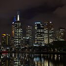 Reflections of Melbourne by Melanie Roberts