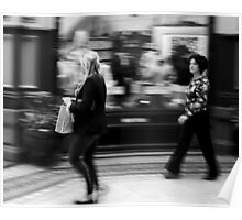 Fast Moving Shoppers  Poster