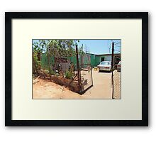 House in Soweto, Johannesburg, South Africa Framed Print