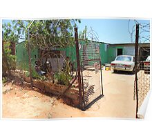 House in Soweto, Johannesburg, South Africa Poster
